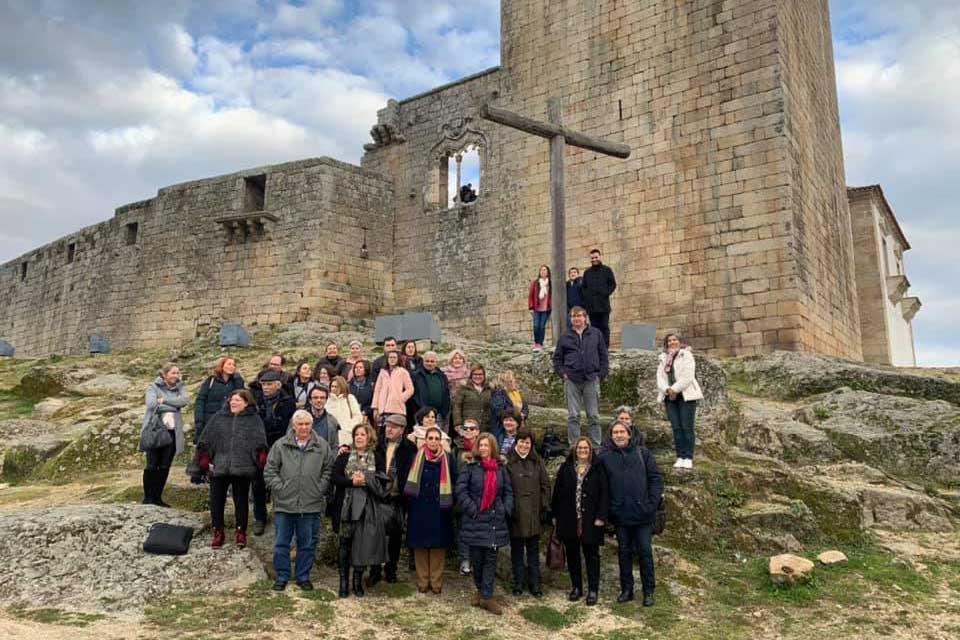 Visita à Sinagoga de Belmonte, do Curso Bíblico-Teológico