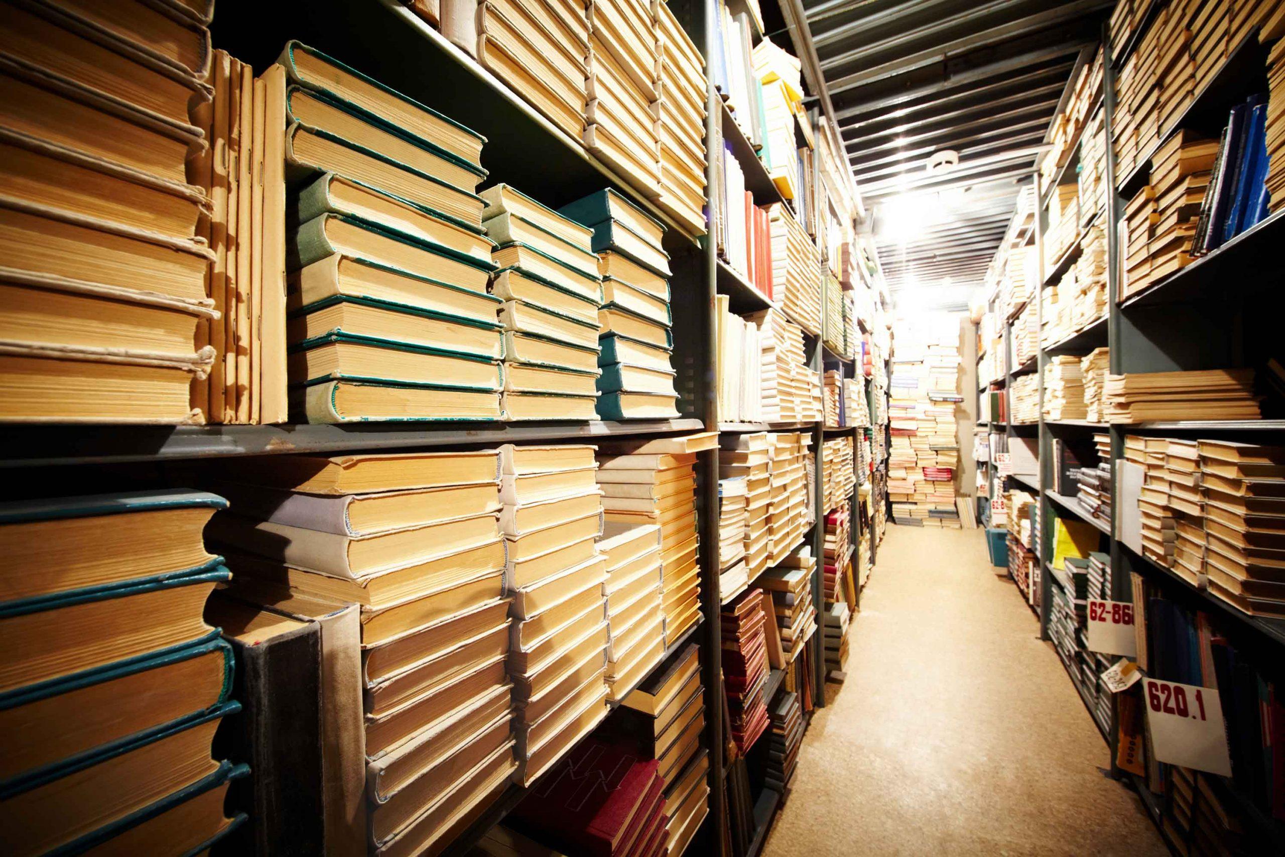 História dos livros