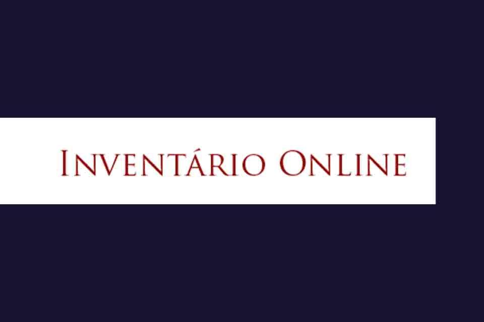 Inventário online